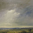 Marlborough Downs  |  h.25.5cm w.35.5cm  |  Oil on board